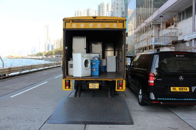 Moving Van For Removals