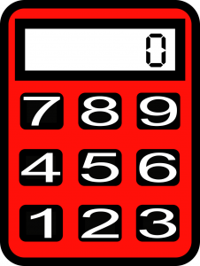 An illustration of a calculator.